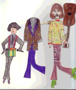 Muñecos Ringo y George