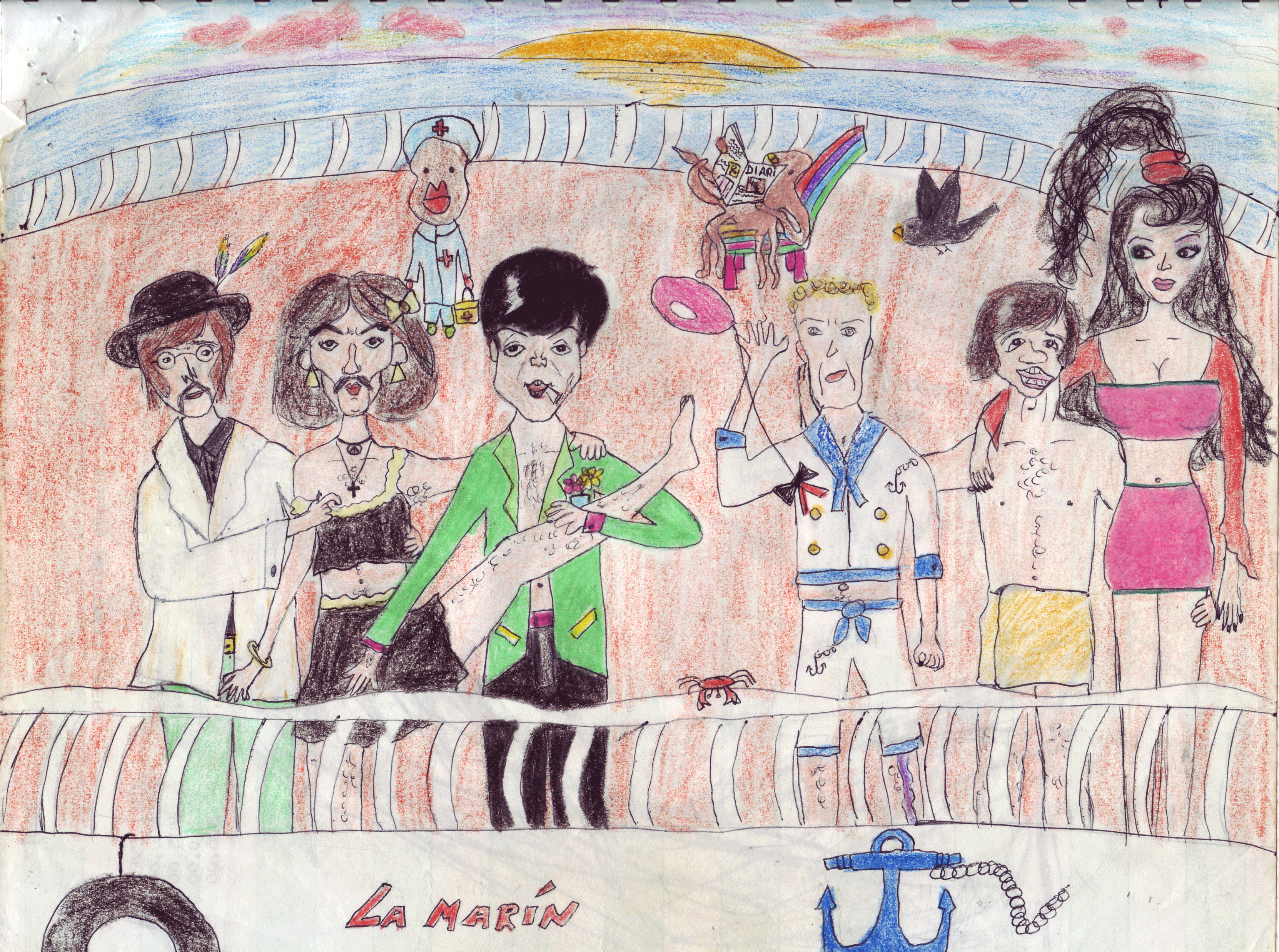 Beatleman a un concierto en la azotea de la casa de for La casa de la azotea